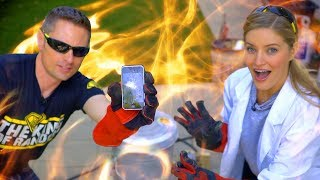 🔥 2,200 DEGREE MELTING iPHONE!!