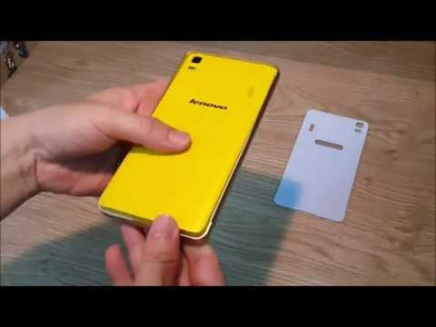 Lenovo K3 Note full armored with tempered glass screen protector metal frame and pvc back cover