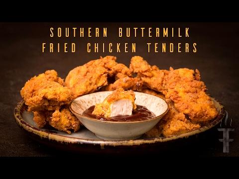 Southern Buttermilk Fried Chicken Tenders Episode 28