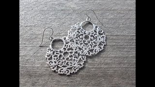 Trendy Silver Filigree Hoops Earrings Models || New fashion earrings collections