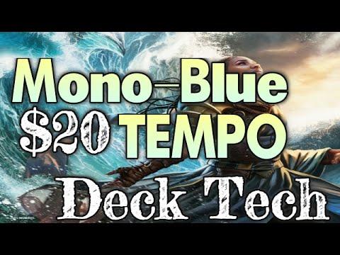 MTG Budget Deck Tech: $20 Mono-Blue Tempo in Battle for Zendikar Standard!