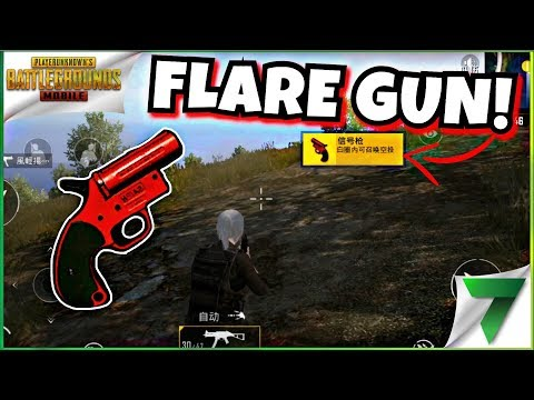 FLARE GUN IN PUBG MOBILE! THIS IS AWESOME!!   PUBG MOBILE