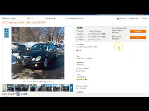 2007 Mercedes Benz E350 for $3,500 ~Manheim Deal of the Day