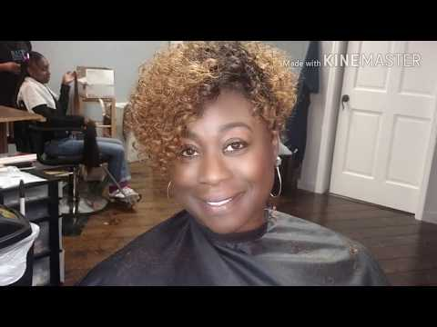 #019 CURLY SASSY BLONDE SEW-IN!