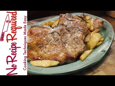 How to Bake Pork Chops - NoRecipeRequired.com