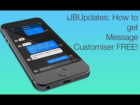 Messages Customiser: Change the way Text Messages and iMessages look on iOS 7