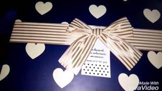#x202b;هدية خطيبي ليا ف الفلانتين😍😍#x202c;lrm;