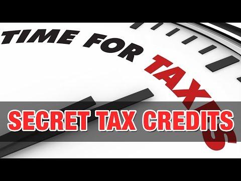 Secret Tax Credits
