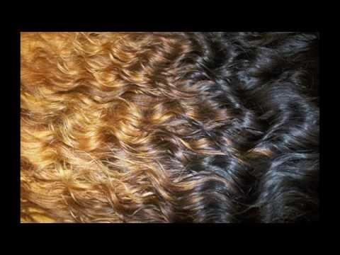 DIY:Khloe Kardashian Ombre on Queen Weave Beauty ltd loose wave