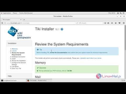 How to install Tiki Wiki CMS Groupware on CentOS 7