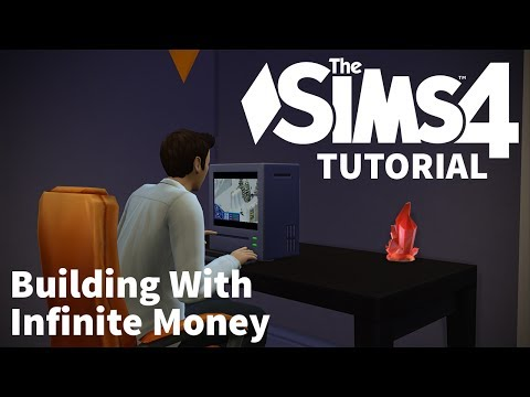The Sims 4 Tutorial - Building With Infinite Money