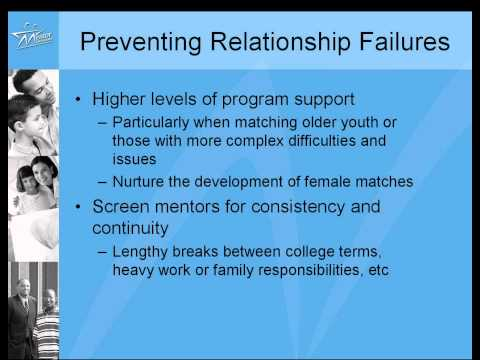 Research In Action #5: Why Youth Mentoring Relationships End
