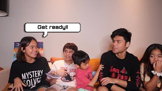 SIBLING TELEPATHY CHALLENGE!!!  Mary Pacquiao and Family  