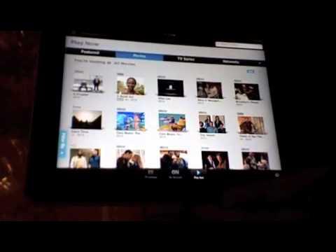 Xfinity TV App for iPad Streaming Video Update Feb 1, 2011