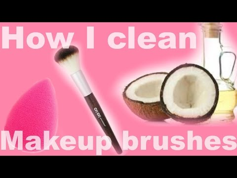 How I clean my Makeup brushes + Beauty Blender