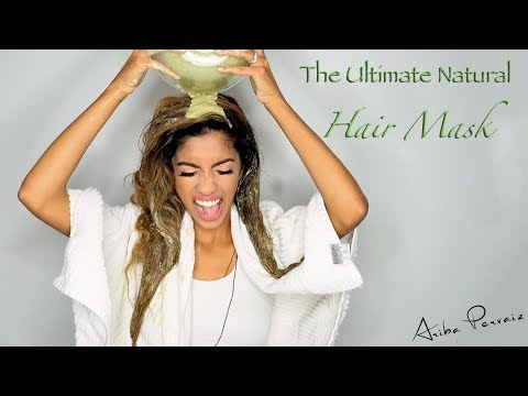 The Ultimate Natural Hair Mask- Hair Tutorial | ARIBA PERVAIZ