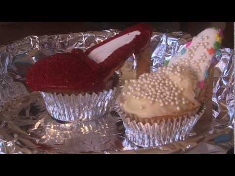 Cupcake Decorating High Heels Red -Baking with Kids