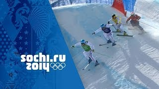 France Dominate The Men's Ski Cross Medals | Sochi 2014 Winter Olympics