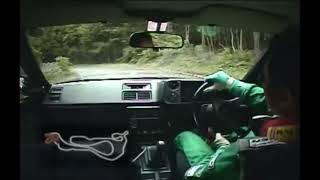 ONBOARD : Keiichi Tsuchiya - AMAZING Touge Run with AE86 / tuned