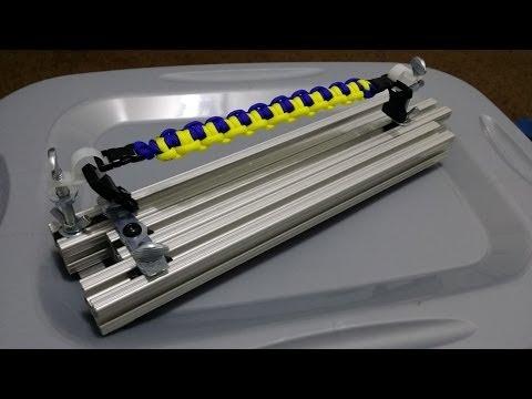 Aluminum Paracord Jig prototype #1