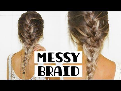 Messy Braid Tutorial | STEPHANIE LANGE