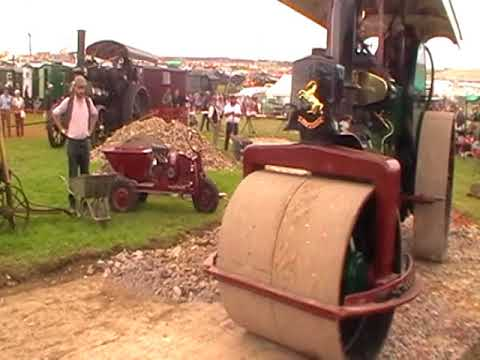 Rollers & Road Making at the Great Dorset Steam Fair 2017