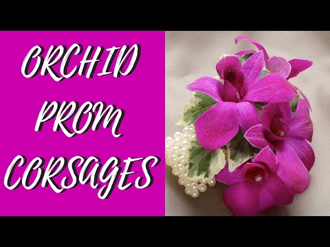 Favorite Orchid Prom Corsage Ideas 2017 | Enchanted Florist Houston