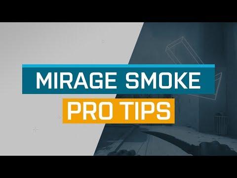 CS:GO - ProTips: Mirage - Top Short Mid smoke