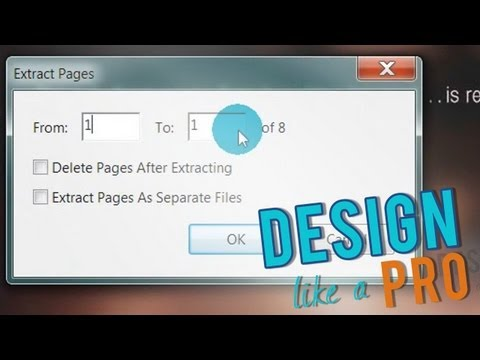 How to Extract PDF Pages into Multiple PDFs