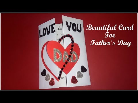 Beautiful card for Father's Day   complete tutorial