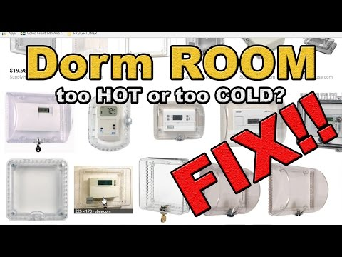 Dorm room to COLD or HOT FIX
