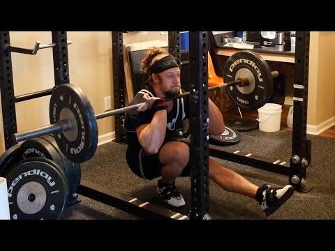 Jujimufu pistol squat training routine