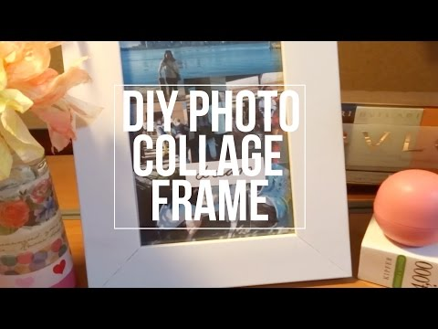 DIY Photo Collage Frame|ROOMSPIRATION (gift ideas)
