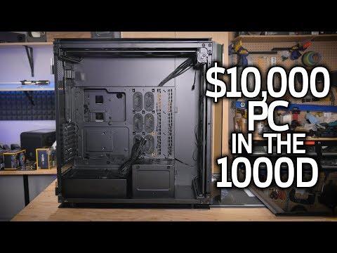 Building a $10,000 PC in the Corsair 1000D - Riptide Part 1