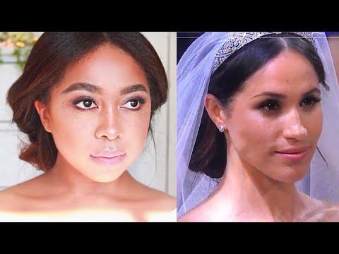 Meghan Markle Royal Wedding Makeup Tutorial | ANGIEBEE