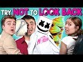 Adults React To Try Not To Look Back Challenge