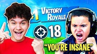 So I Carried Kaylen to a WIN on Fortnite (MindofRez