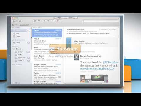 How to Recover a Deleted Email in Mac® Mail on Mac® OS X™