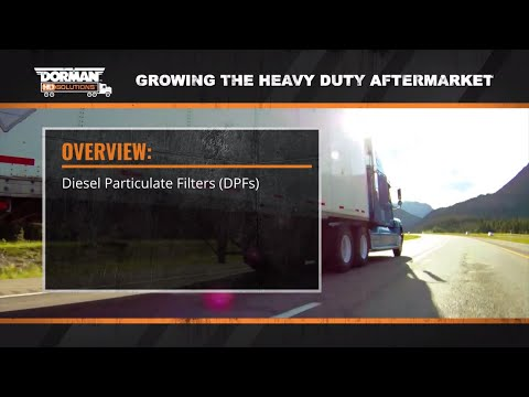How Diesel Particulate Filters Operate with Heavy Duty Diesel Engines by Dorman Products (Episode 5)