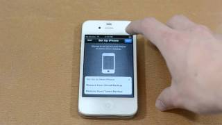 How To Set Up And Activate An Iphone 4s
