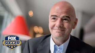 FIFA presidential candidate Gianni Infantino speaks exclusively to FOX Sports