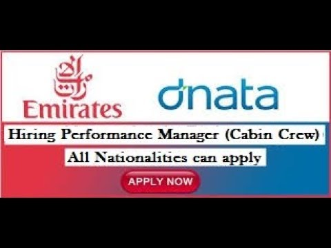 Jobs in Dubai | PERFORMANCE MANAGER (CABIN CREW) |Urgent Requirement | Dubai Latest Job 2018
