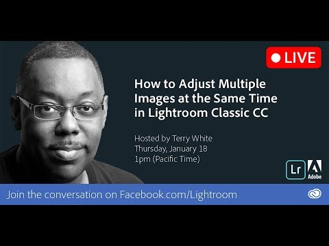 How to Adjust Multiple Images at the Same Time in Lightroom Classic CC