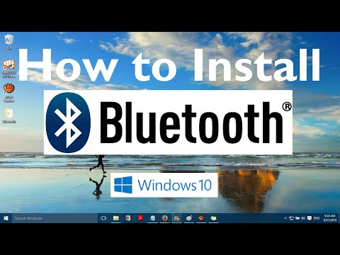 How to Install Bluetooth in Windows 10 (7 Easy Steps)
