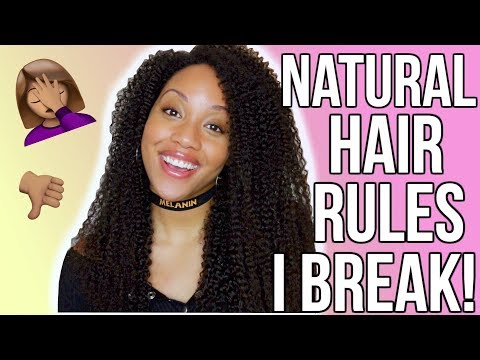 Natural Hair Rules I DON'T Follow!! 🙅🏽 W/ WILLONAWHIM