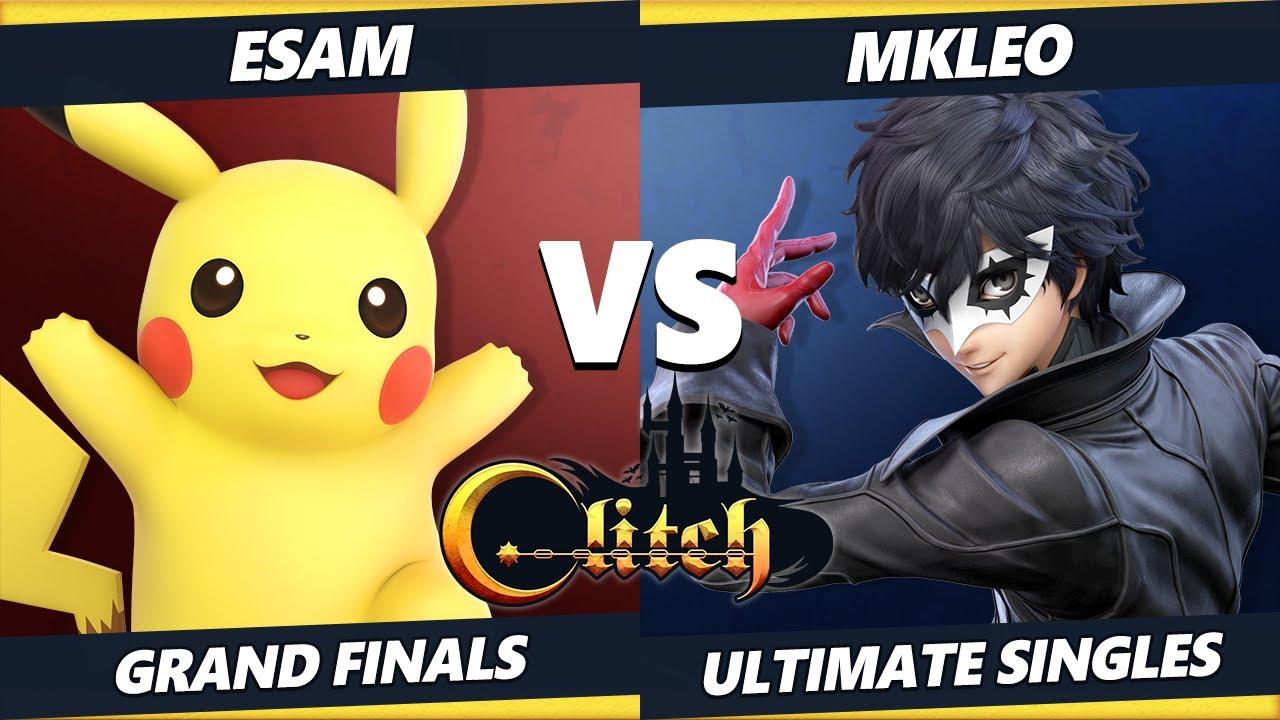 Glitch Konami Code GRAND FINALS - MkLeo (Joker) Vs. ESAM (Pikachu) Smash Ultimate Tournament