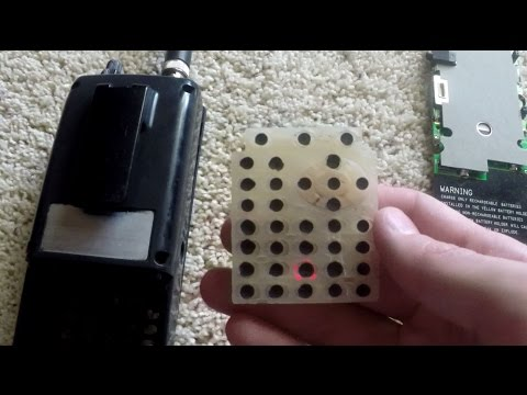 How to Fix Worn Out Police Scanner Keypad - PSR-500, Pro-651, Pro-106 etc..