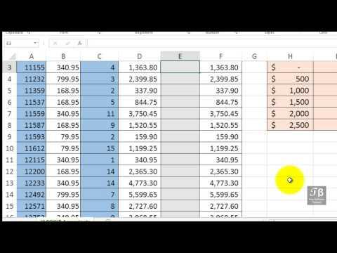 Using VLOOKUP Function & Value In Range   Excel 2013 Beginners Tutorial