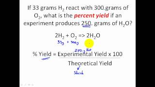 Stoichiometry Percent Yield Stoichiometry Problems Clear Easy