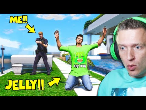 I Arrested JELLY in GTA 5!! (GTA 5 Mods)